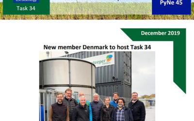 HTL Expert Workshop featured on IEA Bioenergy Task 34 latest newsletter