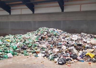 2019.11.01 Municipal solid waste at GEMIDAN facility - Frederickshavn, Denmark