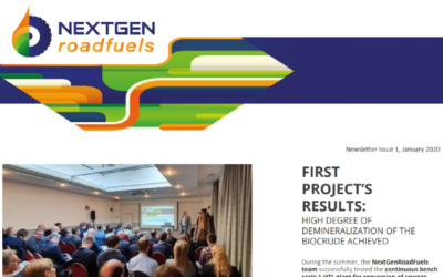NextGenRoadFuels First Newsletter