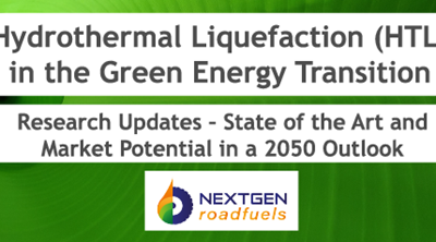 Hydrothermal Liquefaction in the Green Energy Transition (Slides & Recordings)