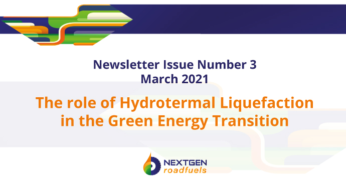 NextGenRoadFuels Newsletter – Issue 3