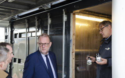 Visit of the Danish Minister of Energy, Utilities and Climate, Mr Lilleholt to Aalborg University
